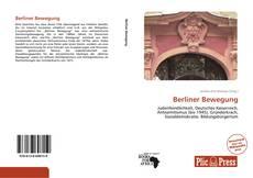 Berliner Bewegung kitap kapağı