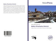 Bookcover of Babice (Prachatice District)