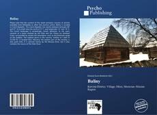 Buchcover von Baliny