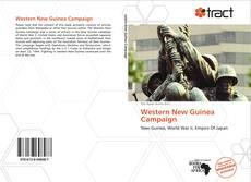 Portada del libro de Western New Guinea Campaign
