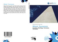 Wheat, Tennessee kitap kapağı