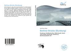Bookcover of Berliner Brücke (Duisburg)