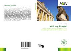 Bookcover of Whitney Straight