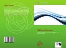 Обложка Wilhelm Leichum