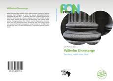 Обложка Wilhelm Ohnesorge