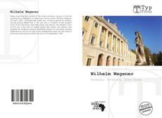 Обложка Wilhelm Wegener