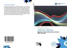 (29219) 1992 BJ kitap kapağı
