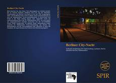 Capa do livro de Berliner City-Nacht