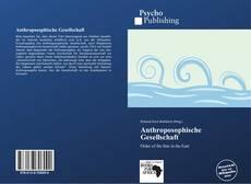 Anthroposophische Gesellschaft kitap kapağı
