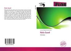 Portada del libro de Rola Saad