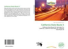 Bookcover of California State Route 3