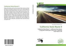 Portada del libro de California State Route 9