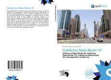 Bookcover of California State Route 12