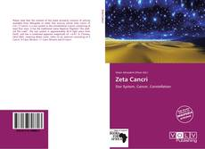 Bookcover of Zeta Cancri