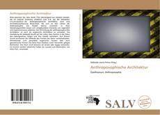 Bookcover of Anthroposophische Architektur