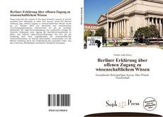 Copertina di Berliner Erklärung über offenen Zugang zu wissenschaftlichem Wissen