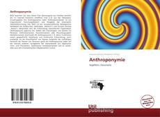 Borítókép a  Anthroponymie - hoz