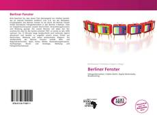 Bookcover of Berliner Fenster