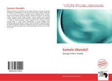 Capa do livro de Semele (Handel)