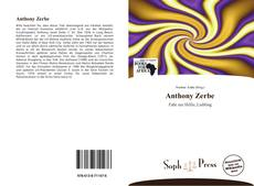 Copertina di Anthony Zerbe