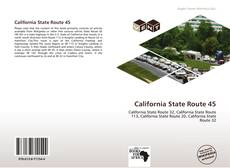 Capa do livro de California State Route 45