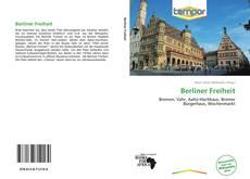 Bookcover of Berliner Freiheit