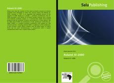 Bookcover of Roland JV-2080