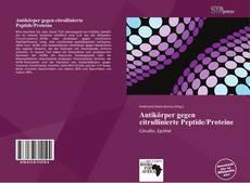Antikörper gegen citrullinierte Peptide/Proteine kitap kapağı