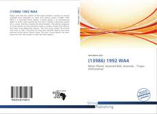 Bookcover of (13986) 1992 WA4