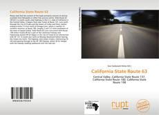 Обложка California State Route 63