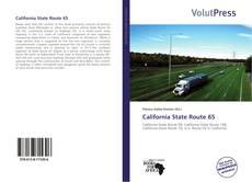 Capa do livro de California State Route 65