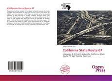 Bookcover of California State Route 67