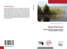Bookcover of Oulu Province