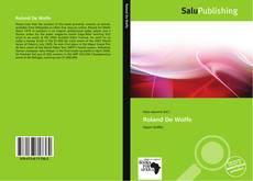 Roland De Wolfe kitap kapağı