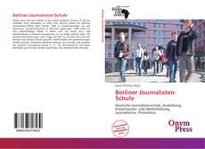Bookcover of Berliner Journalisten-Schule