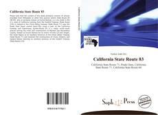 Bookcover of California State Route 83