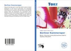 Berliner Kammeroper kitap kapağı