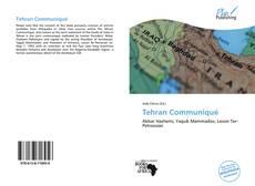 Bookcover of Tehran Communiqué
