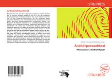 Buchcover von Antikörpersuchtest