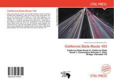 Couverture de California State Route 103