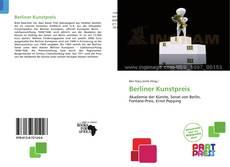 Bookcover of Berliner Kunstpreis