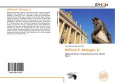Bookcover of William E. Metzger, Jr.