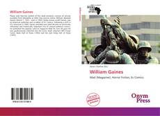 Bookcover of William Gaines