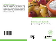 Buchcover von Berliner Luft (Dessert)