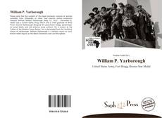 Couverture de William P. Yarborough