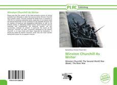 Copertina di Winston Churchill As Writer
