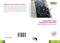 World War Ii-Era Population Transfers的封面