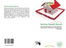 Buchcover von Berliner Modell (Recht)