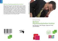 Buchcover von Berliner Psychoanalytisches Institut