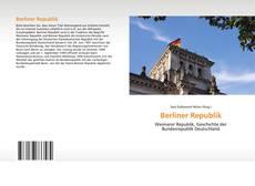Copertina di Berliner Republik